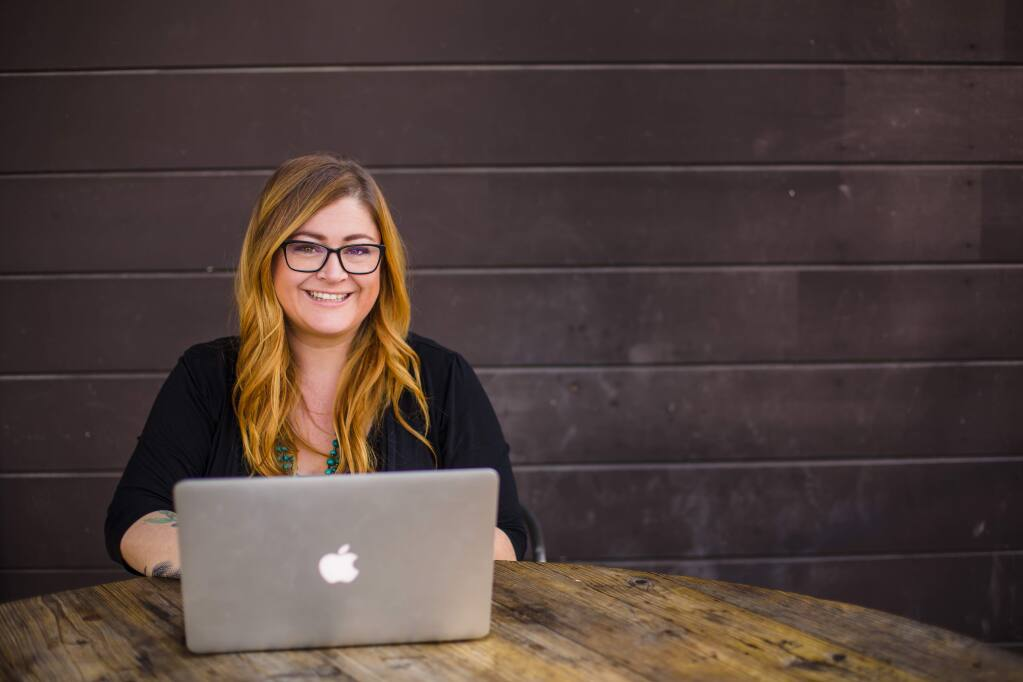Shana Bull is a Santa Rosa-based marketing educator and digital storyteller, working with wine, food, hospitality businesses, teaching classes on marketing, and freelance writing. (RACHELLE RAWLINGS PHOTOGRAPHY)