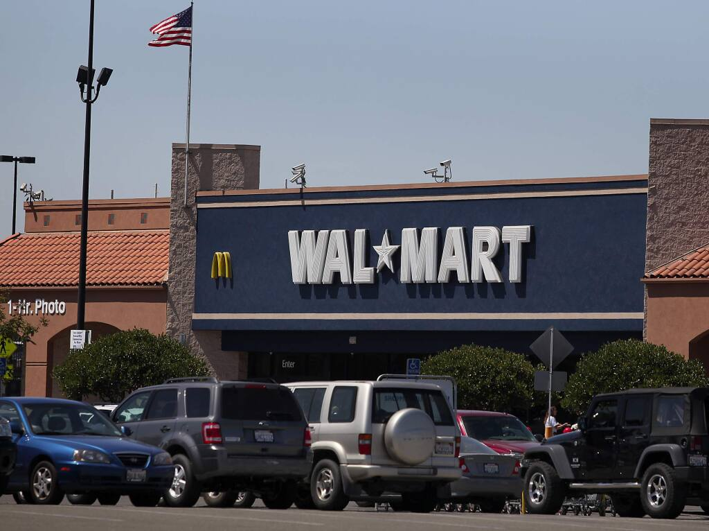 Walmart in Rohnert Park (PD FILE, 2010)