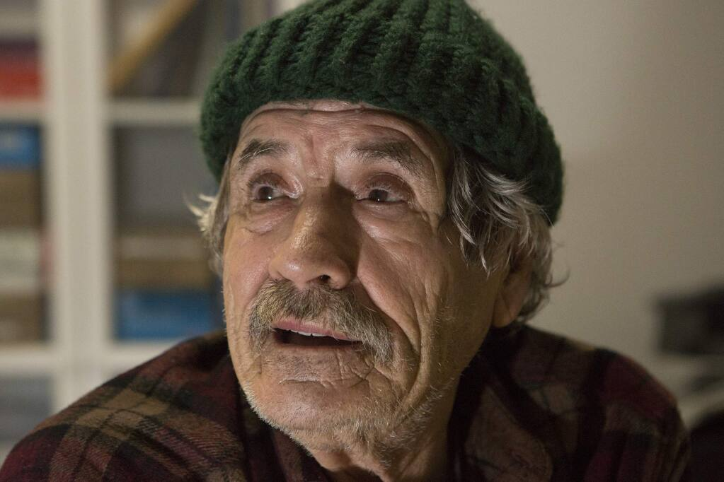 Look into the eyes of homeless man Johnny Fassio, says letter writer, 'and you will see the face of Christ.' (Photo by Robbi Pengelly/Index-Tribune)