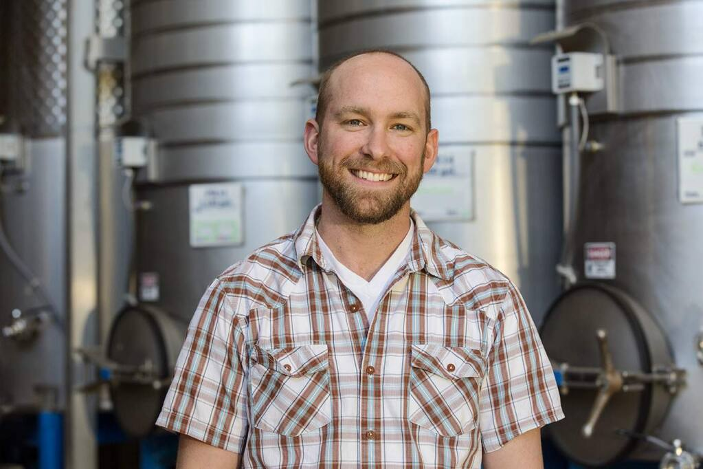 Richie Allen, director of marketing and consumer relations, Rombauer Vineyards, St. Helena, is among North Bay Business Journal's 2017 Forty Under 40 list of remarkable professionals younger than 40. (PROVIDED PHOTO)