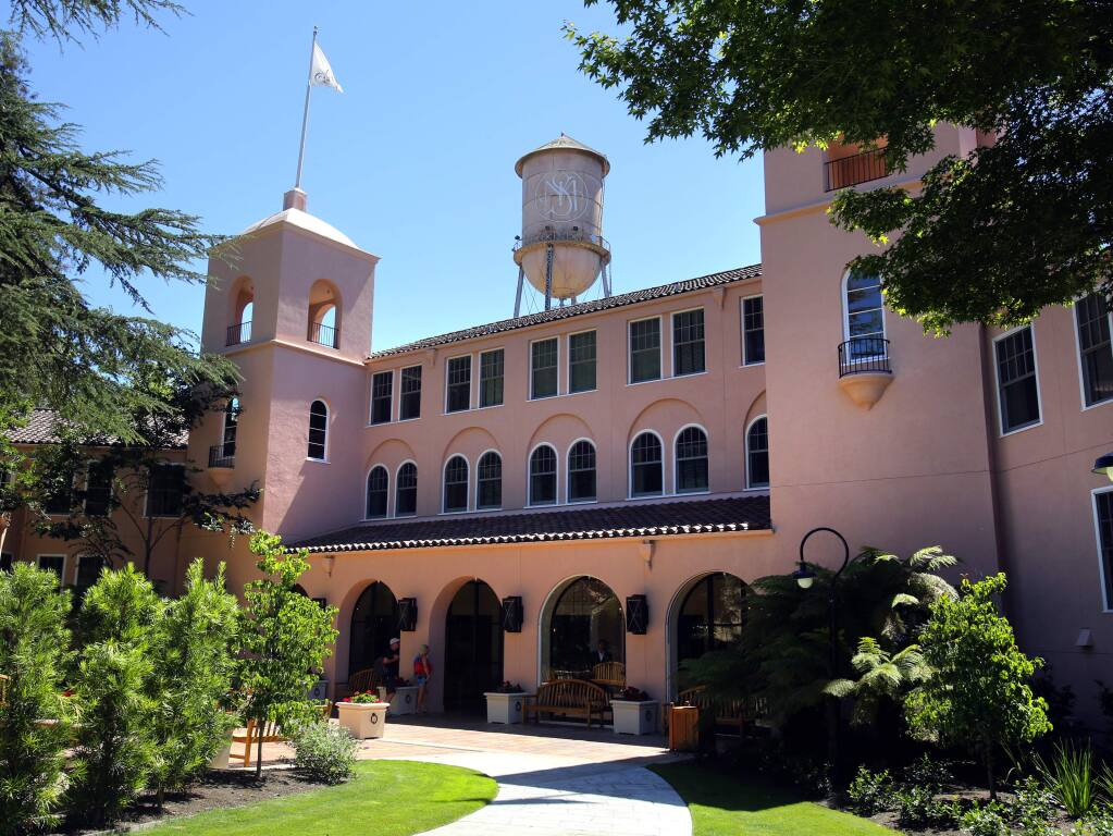 7/12/2013: E1:PC: Carey Watermark Investors Inc. acquired 75 percent of the Fairmont Sonoma Mission Inn & Spa. The Fairmont recently completed renovation to the lobby. (photo by John Burgess/The Press Democrat)