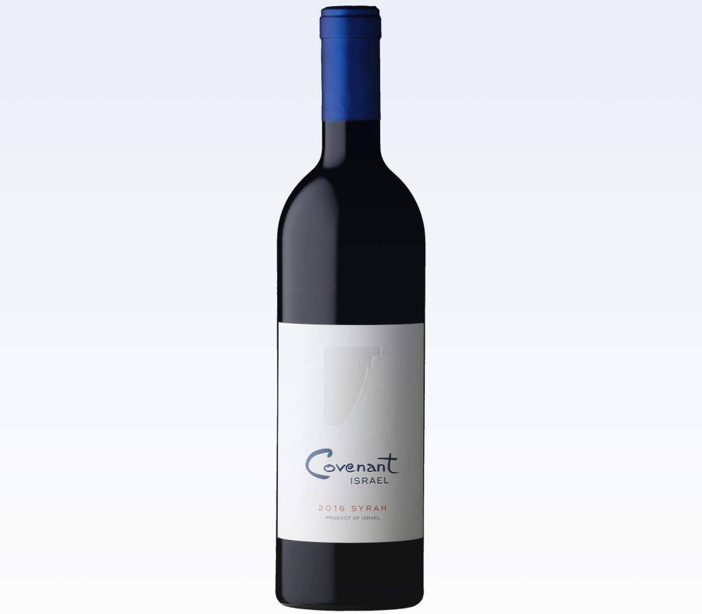 Covenant Israel Syrah. With an eye to the high holidays ,co-founder of Covenant Wines and Covenant Israel Jeff Morgan's story and his kosher wines are particularly timely.