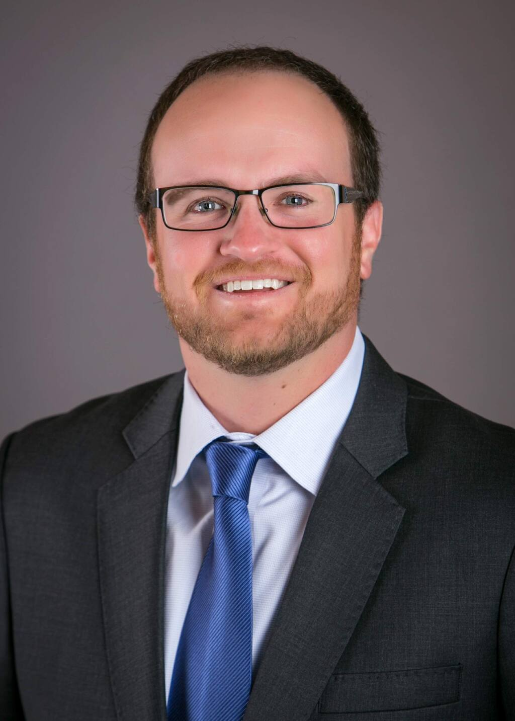 Matthew Hunstock, 38, financial adviser for Ameriprise Financial Services Inc. in Santa Rosa, is one of North Bay Business Journal's Forty Under 40 notable young professionals for 2019. (BELLA PHOTOGRAPHY & DESIGN)