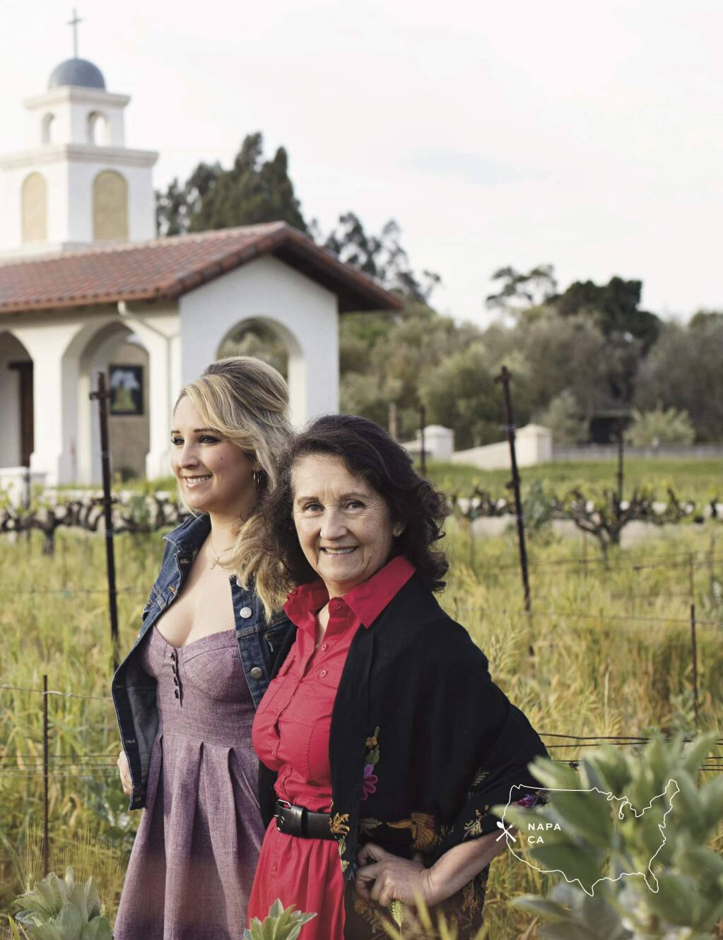 Dalia and Amelia Ceja from Ceja Vineyards in Napa and Sonoma.