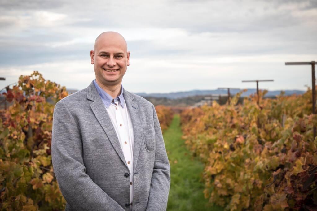 Ronald Du Preez, general manager and head winemaker, Sugarloaf Crush