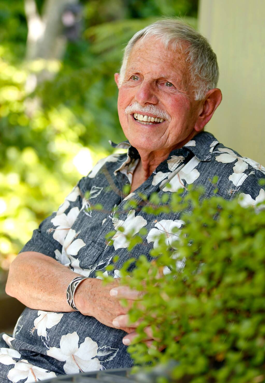 Gary 'Buz' Hermes, 77, has been an advocate for LGBTQ seniors for years, working to raise awareness about the challenges of elderly members in the LGBTQ community, at his home in Sonoma, California on Friday, May 27, 2016. (Alvin Jornada / The Press Democrat)