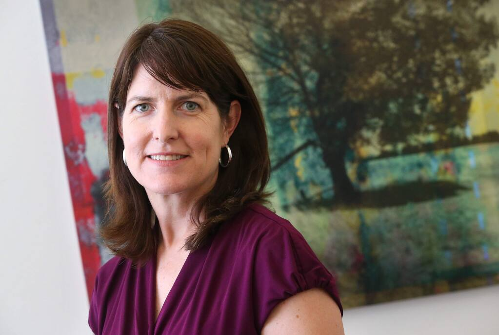 Elizabeth Brown is the president and CEO of Community Foundation Sonoma County. (Christopher Chung/ The Press Democrat)