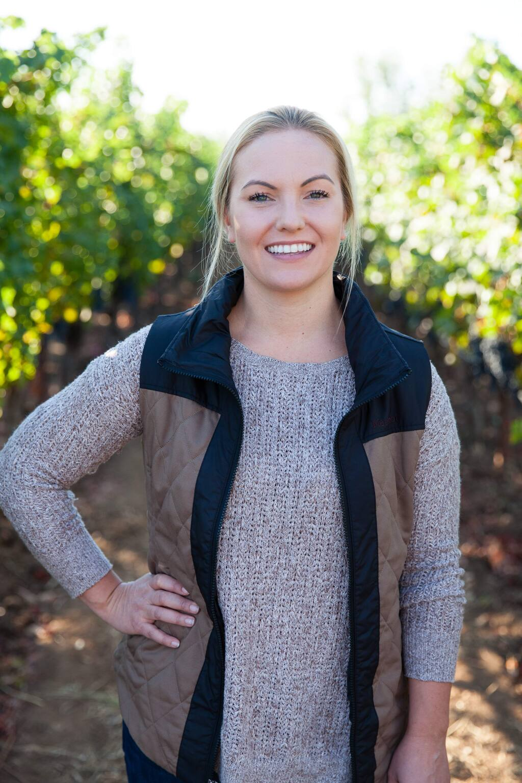 Jamie Benziger, 33, winemaker, Imagery Estate Winery, is a 2020 Forty Under 40 winner. (courtesy photo)