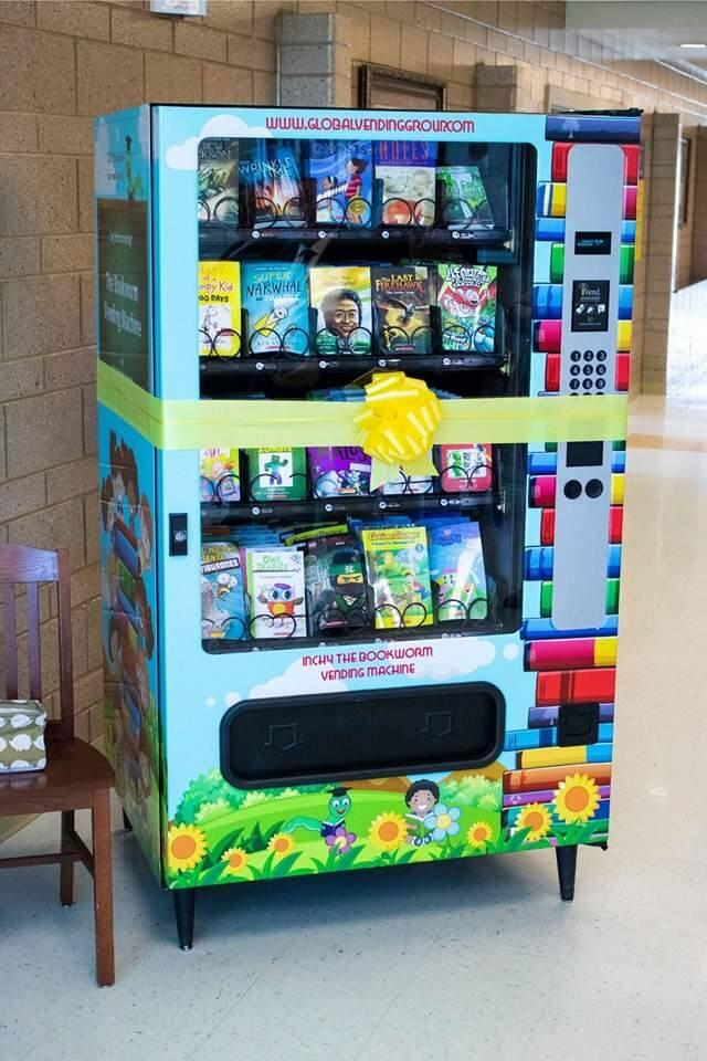 A machine in use at Granger Elementary School in Utah.