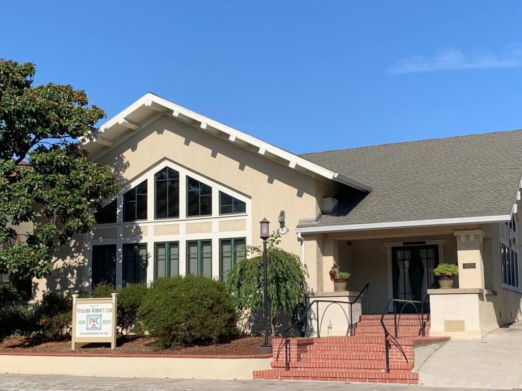 Petaluma Woman's Club clubhouse. (PWC photo)