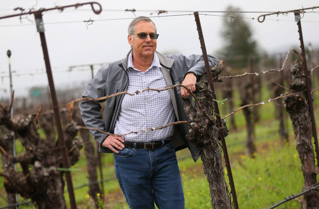 Tony Linegar is retiring as the Agricultural Commissioner for Sonoma County after eight years. (Christopher Chung/ The Press Democrat)