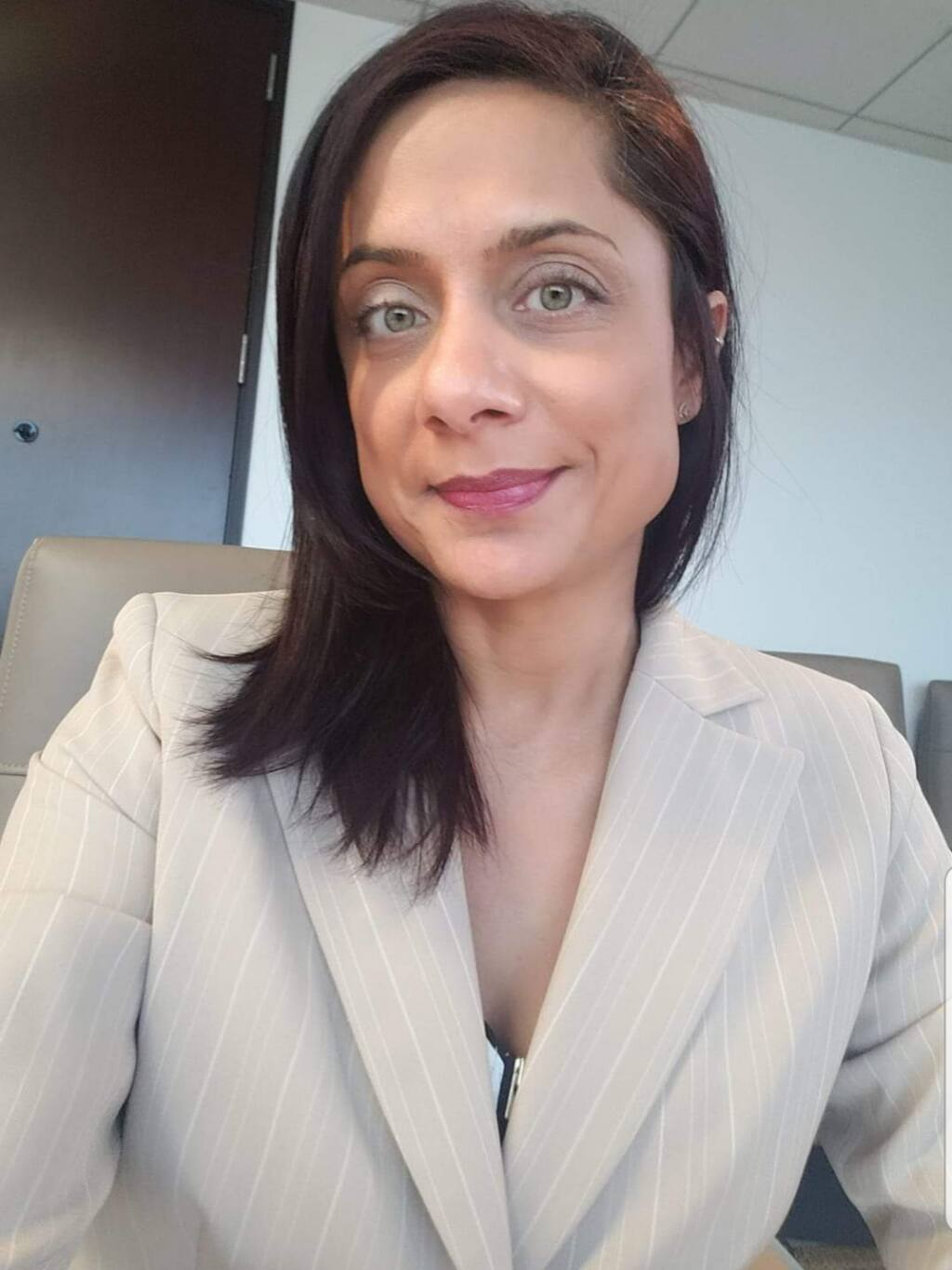 """""""To my surprise, what I ran into more was the fact that unconscious bias was creeping in, resulting in behaviors that individuals who were well-intentioned weren't even aware they were signaling to other people,"""" said Sejal Thakkar, attorney and business consultant, at North Bay Business Journal's Diversity Equity and Inclusion Business Conference on Sept. 9. (courtesy of Sejal Thakkar)"""