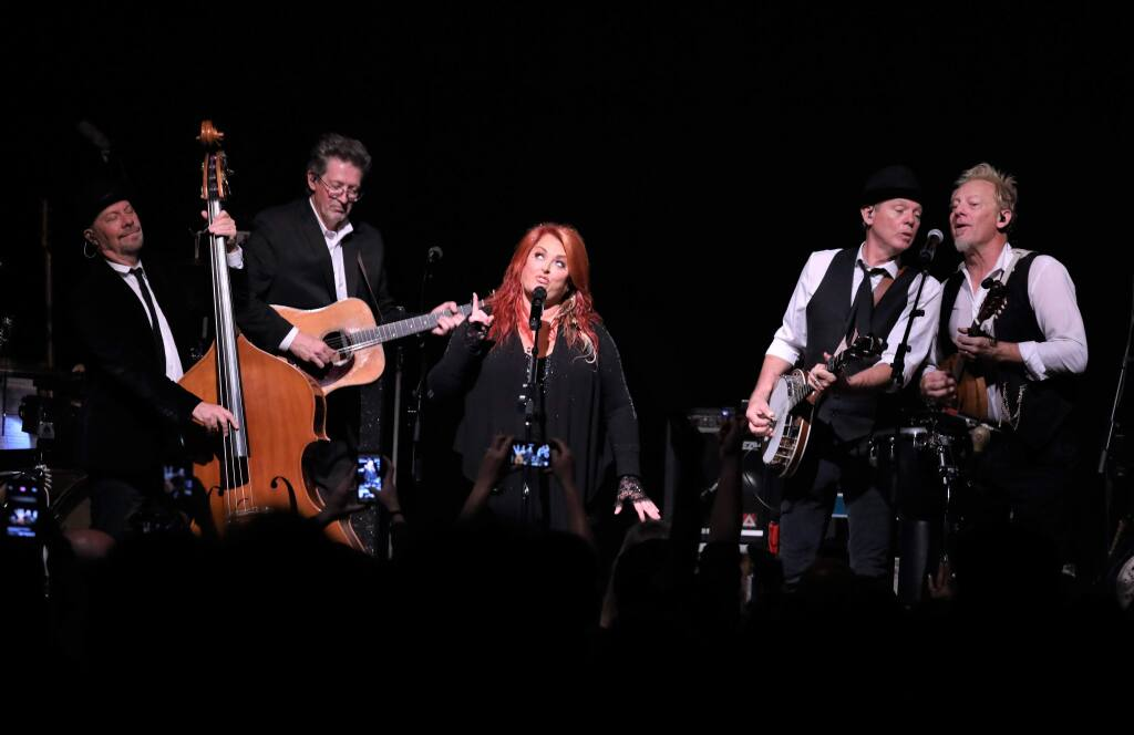 Wynonna Judd and her band, The Big Noise, perform at the Mystic Theatre in Petaluma on Wednesday, June 5, 2019. (WILL BUCQUOY/FOR THE PD)