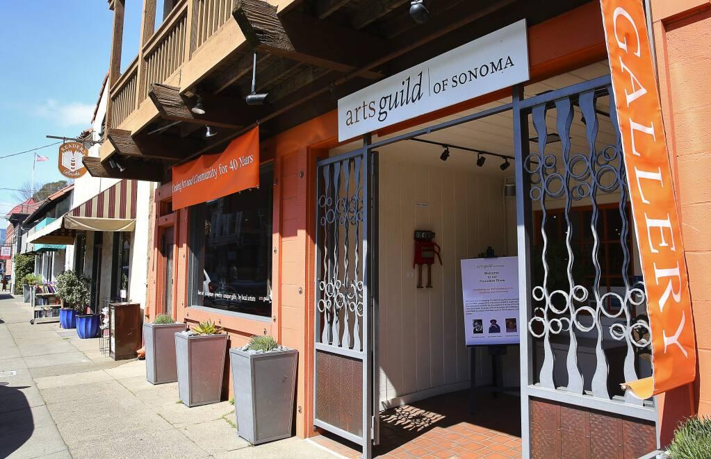 The Arts Guild of Sonoma gallery in Sonoma. File photo. (Christopher Chung/ The Press Democrat)