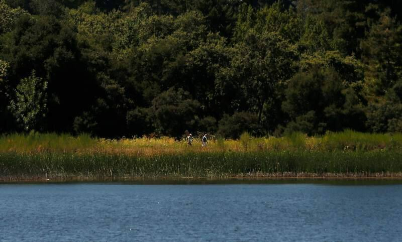 No, you can't. Yes, you can. State officials clarify stance on SDC reservoir hiking, including around Fern Lake.