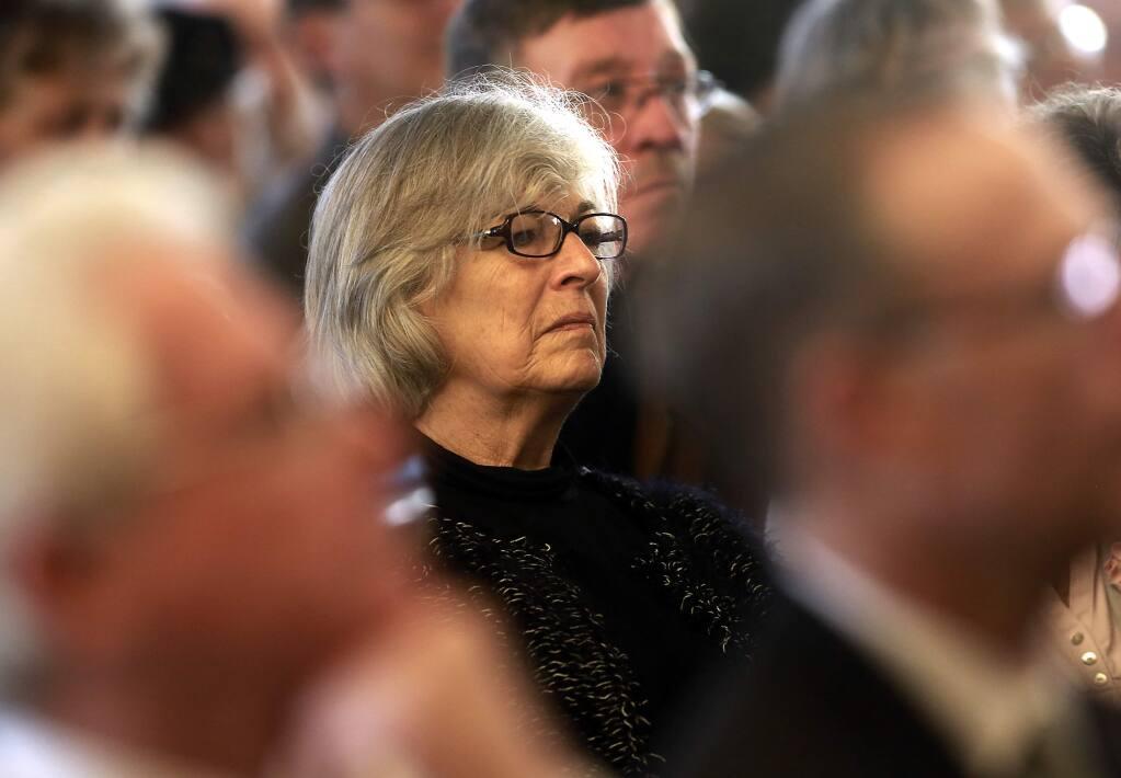 Former representative Lynn Woolsey (Photo by John Burgess/The Press Democrat)