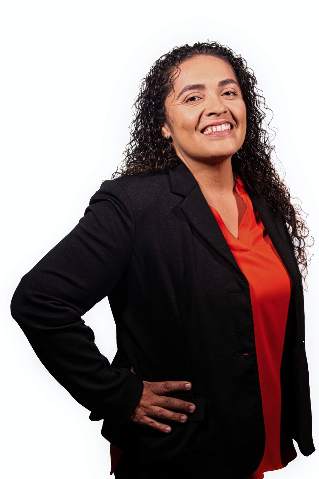 Teresa Castillo-Medina, a branch manager for Star Staffing, is one of North Bay Business Journals 2018 Latino Business Leadership Awards winners. (JEFF QUACKENBUSH / NORTH BAY BUSINESS JOURNAL)