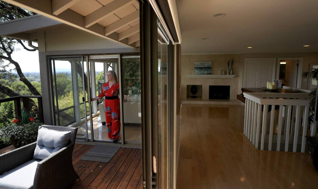 Century 21 broker associate Belinda Andrews had listed this home above Santa Rosa for $1.595 million in July 2018. (Kent Porter / The Press Democrat) File photo, 2018