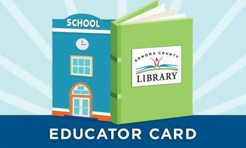 School employees can apply for a special card for classroom resources.