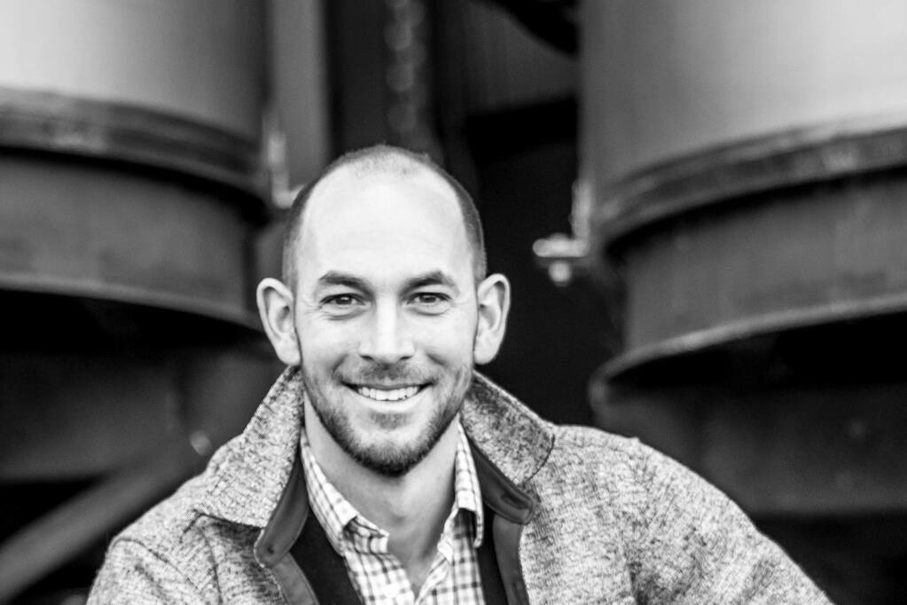 Jake Martini, 36, director of operations, Taft Street Winery, is a 2020 Forty Under 40 winner. (courtesy photo)