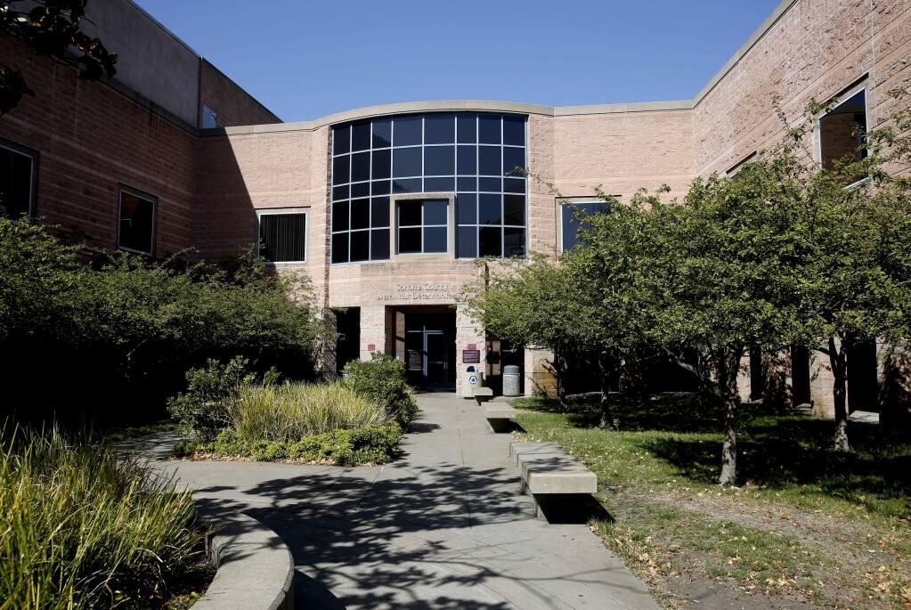 The Sonoma County Main Adult Detention Facility in Santa Rosa in 2015. (Beth Schlanker/The Press Democrat)