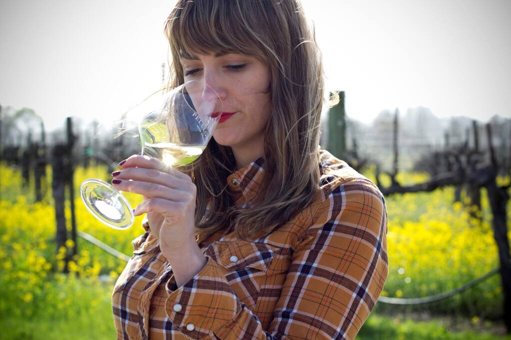 Alexia Pellegrini, general manager of Santa Rosa's Pellegrini-Olivet Lane. (Pelligrini Wine Co.)