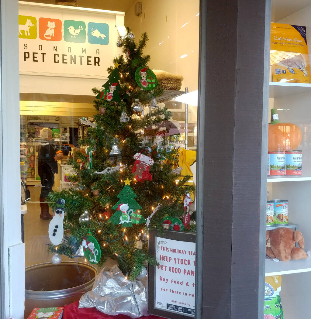 Sonoma Pet Center is located in the Sonoma Marketplace Shopping Center.