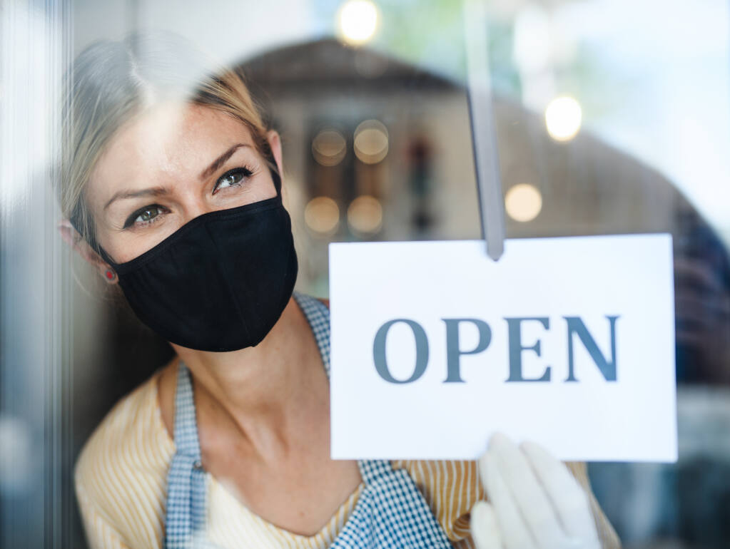 Open for Business During Shelter-in Place (Shutterstock)