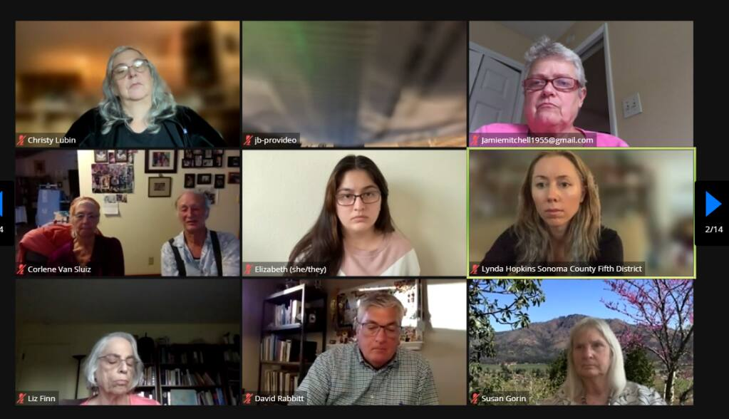 Nearly 150 people, including four Sonoma County supervisors, attended a virtual meeting Wednesday to discuss federal immigration reform, as well as other local and state initiatives related to the undocumented community.