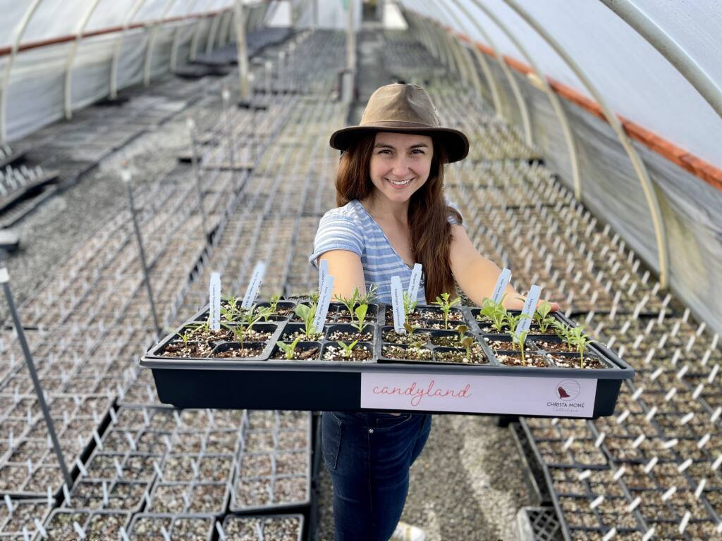 Landscape designer Christa Moné has created flower kits to take the guesswork out of planting a flower garden. (Christa Moné)