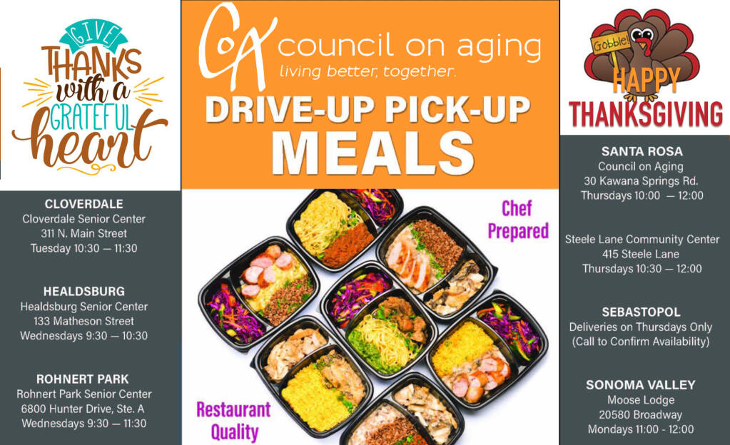 Council on Aging is preparing holiday meals for pick up. Please call the day before by 10 am. Wear a mask! all other distancing and hygiene protocols will be in place.
