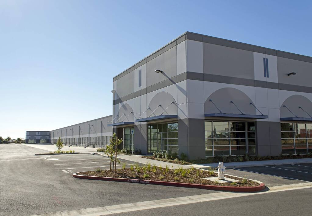 The 321,933 square foot Amazon Distribution Center built in 2017 in the Vacaville Business Park is Amazon's first distribution center in the North Bay. (Buzz Oates Companies)