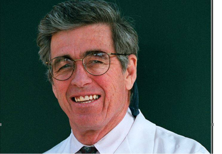 """Dr. Edward """"Ted"""" Hard, who died July 16 at the age of 81, in the late 1990s."""