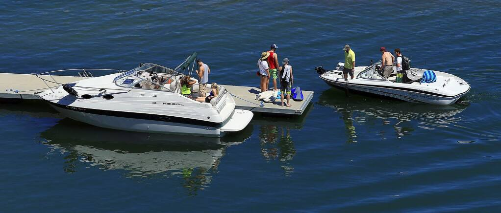 The Sonoma County Water Agency and the Army Corp of Engineers received a $600,000 state grant to keep the highly prolific quagga mussel from spreading to Lake Sonoma and Mendocino. (JOHN BURGESS/The Press Democrat)