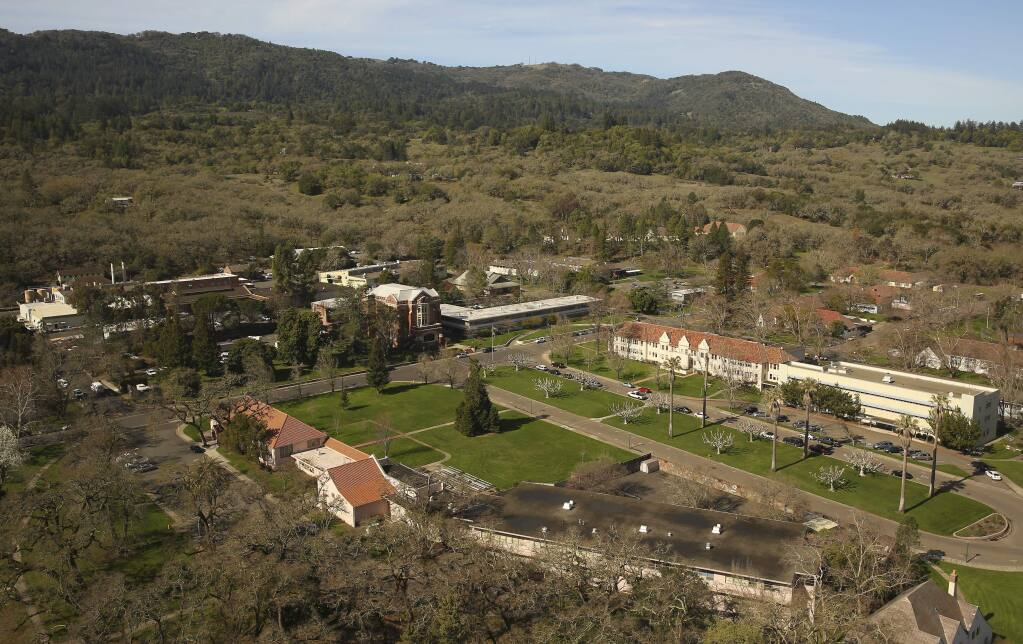 The Sonoma Developmental Center is the last large undeveloped property in the Sonoma Valley. The site's future is in doubt after a state task force in December recommended that California's four remaining developmental centers be downsized