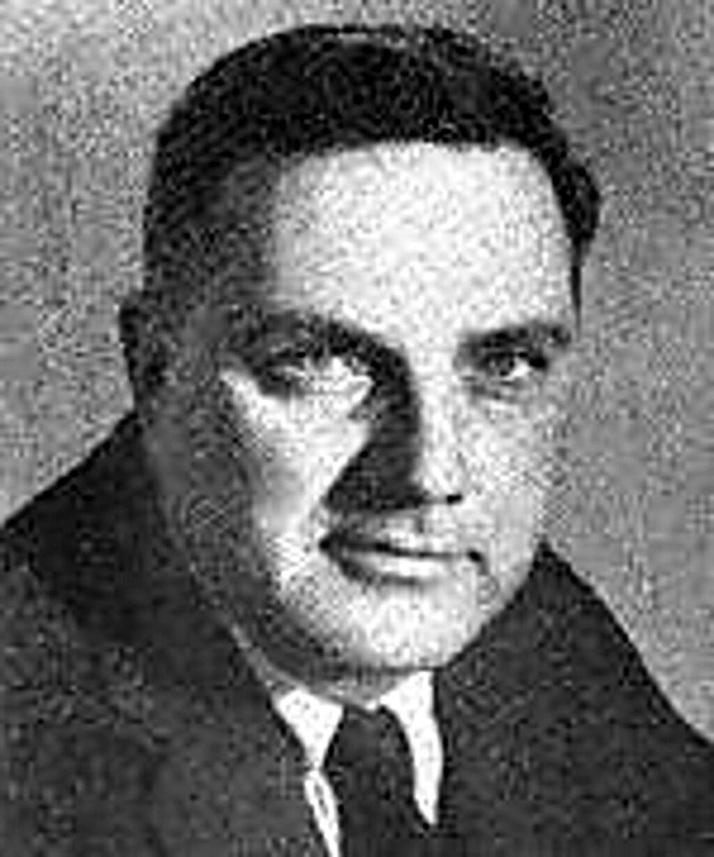 Clem Miller, c. 1960. He was also instrumental in getting Point Reyes designated a National Seashore. (Courtesy of ourcampaigns.org)