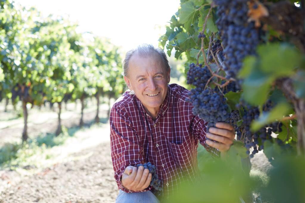 Vintner and winemaker Nick Goldschmidt of his namesake winery. (Goldschmidt Vineyards)