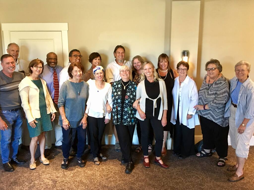The nonprofit members of Sonoma Valley Fund's first capacity building cohort, at one of its first meetings in 2016.