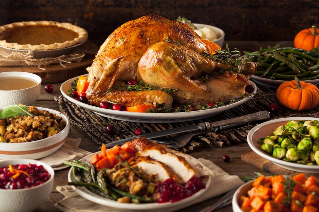 For those who don't have time or interest in cooking their own Thanksgiving feast, there are plenty of options for pre-order meals here in Petaluma.