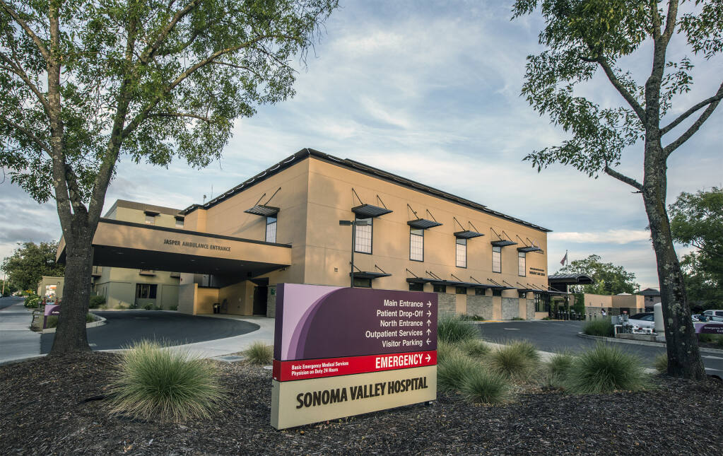 Sonoma Valley Hospital officials are investigating a security incident that has hobbled its computer systems for more than a week. (Photo by Robbi Pengelly/Index0Tribune)
