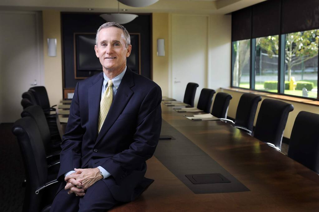 Russ Colombo, Bank of Marin CEO and president (courtesy photo)