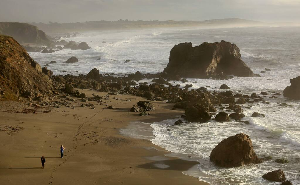 The Farallones/Cordell Bank marine sanctuaries. (Kent Porter/ Press Democrat) 2014
