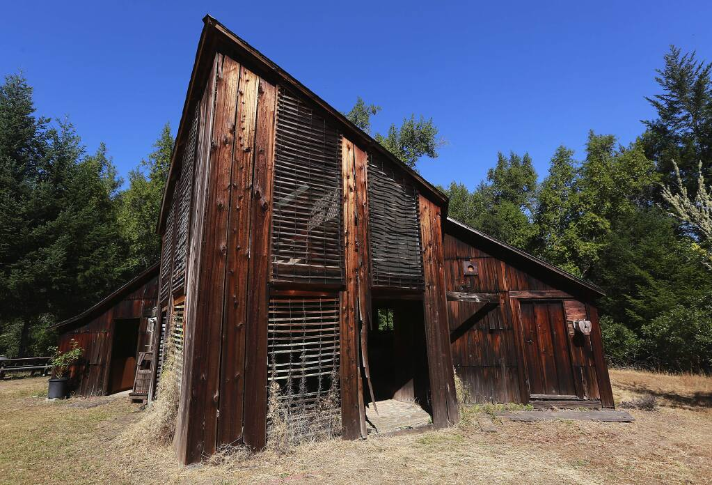 The Pond Farm Studio Barn and home of potter Marguerite Wildenhain in the Austin Creek State Recreation Area have been added to the National Registry of Historic Places. (John Burgess / PD)