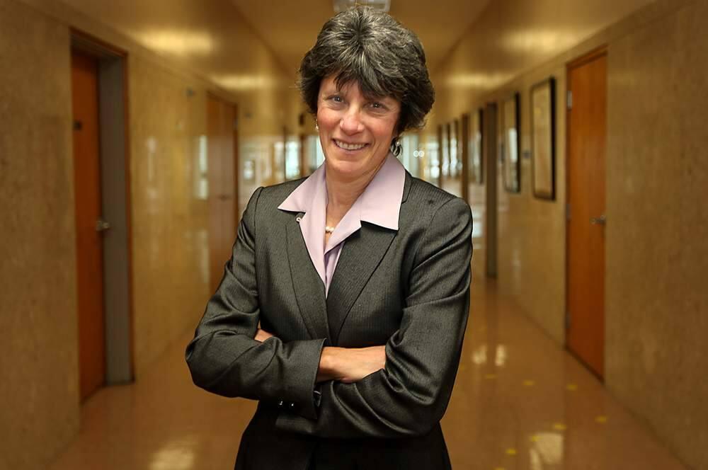 Sonoma County District Attorney Jill Ravitch, Thursday Jan. 19, 2012 in Santa Rosa. (Kent Porter / Press Democrat) 2012