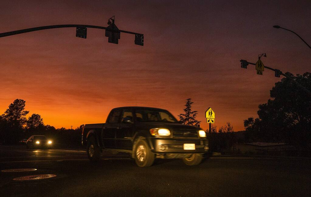 Only late night and early morning traffic is likely to be interrupted by roadwork on Highway 37, from Aug. 2 to Aug 13, 2021. (John Burgess/The Press Democrat)