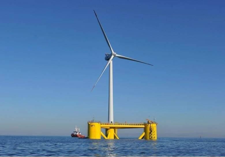 A floating wind power platform off the coast of Portugal was developed by Principle Power, op-erated for five years and then relocated to the coast of Scotland. Principle Power is part of a con-sortium planning to develop a $500 million offshore wind power project at Eureka.