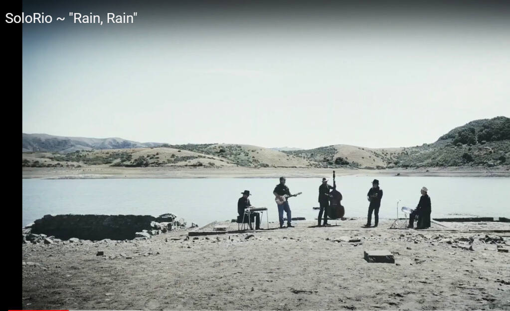 SoloRio, of the 'Rain, Rain'  video, is based in Santa Rosa.