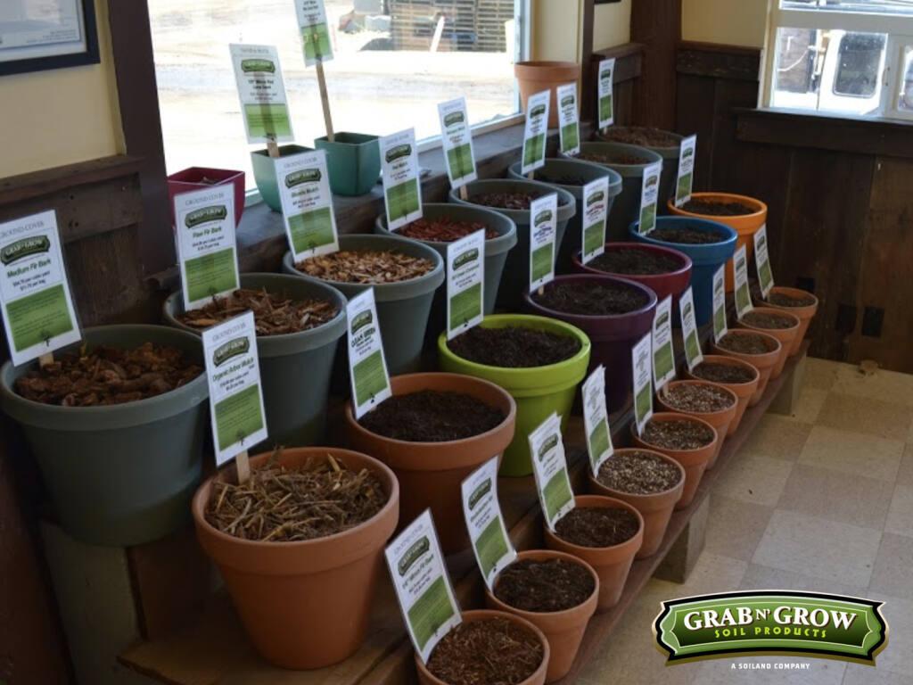 Grab N' Grow Soil Products organic soil compost mulch