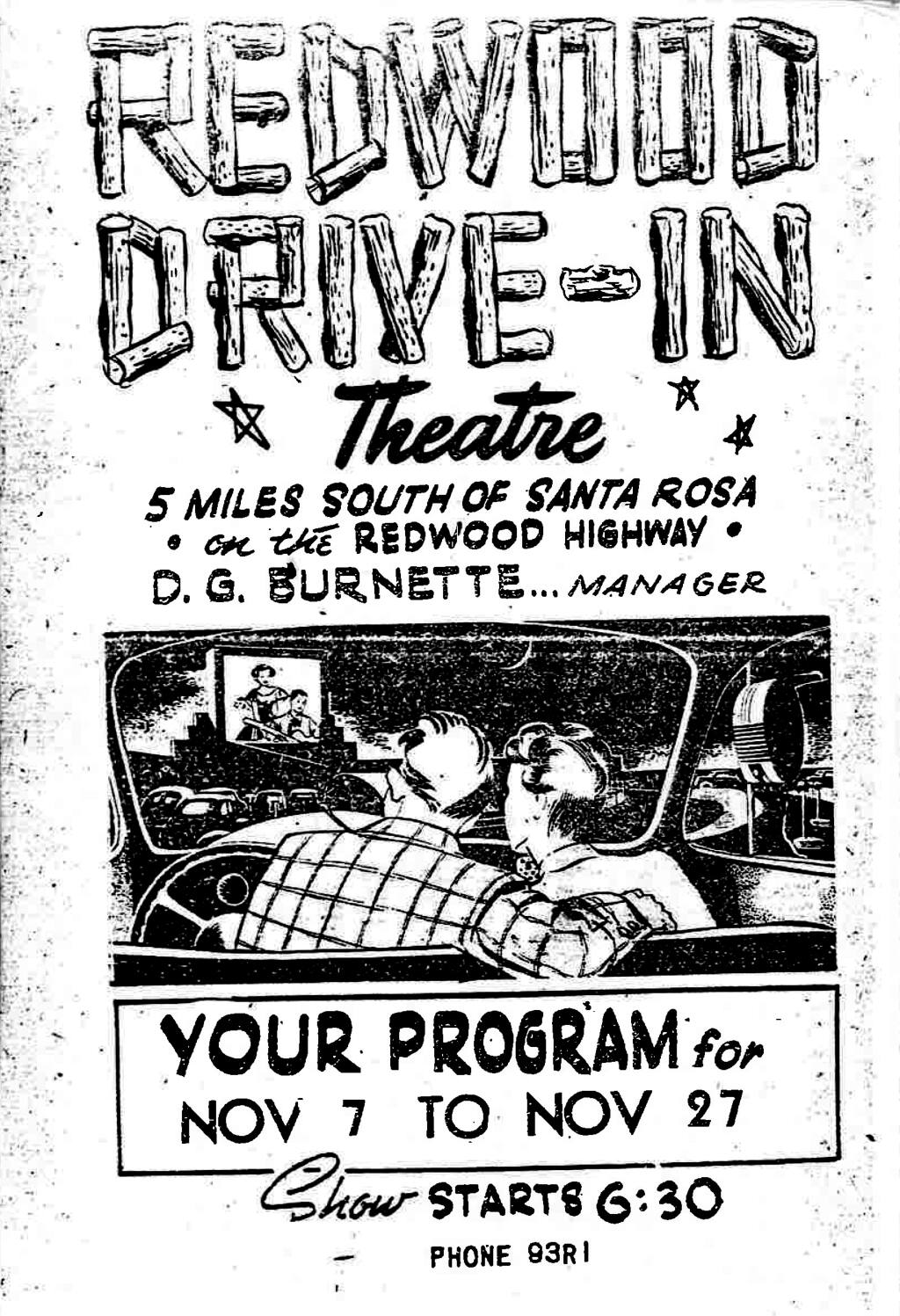 Drive In Movie Theaters Gone But Not Forgotten In Sonoma County