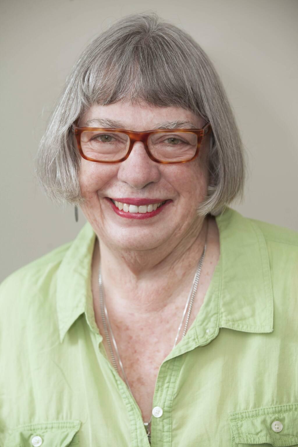 Sonoma Index-Tribune columnist Kathleen Hill.
